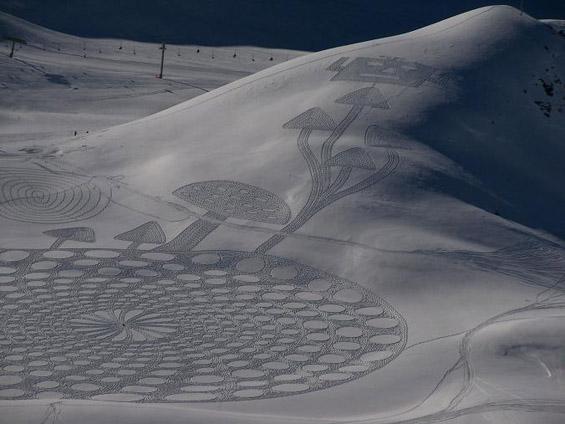 Снежна уметност