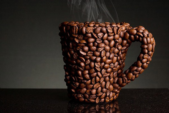 Уметност од зрна кафе