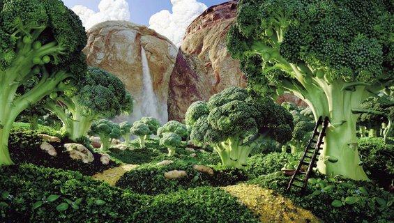 Неверојатни пејзажи од храна