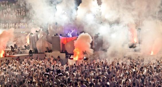 Најголемата журка во бело