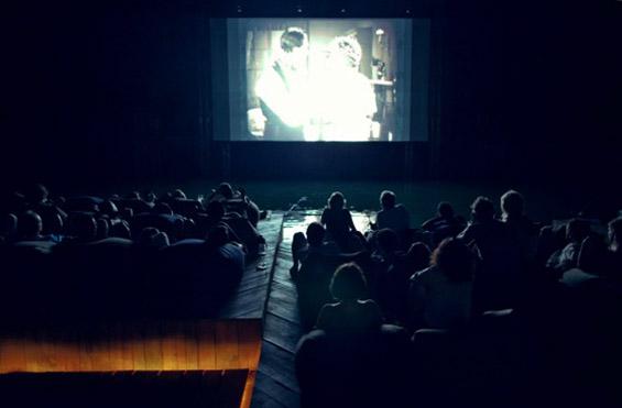 Кинопроекции на отворено море