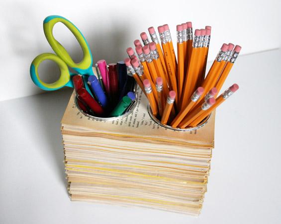 Креативни држачи за вашиот прибор за пишување