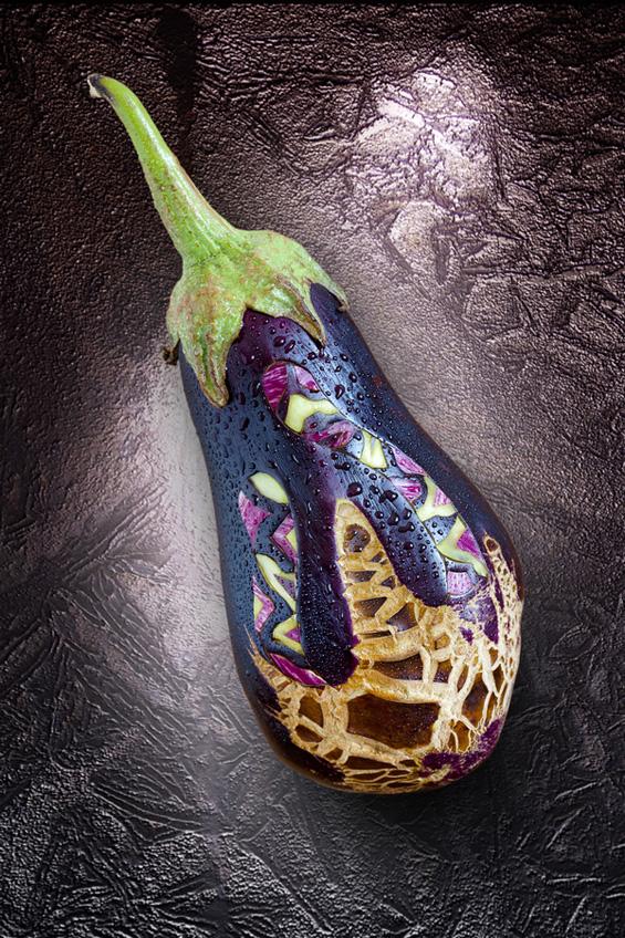 Уметност од изрезбана храна