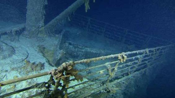Фантастични слики од потонатиот Титаник