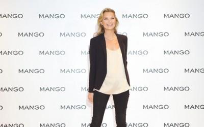 """Кејт Мос во пролетната колекција на """"Mango"""""""