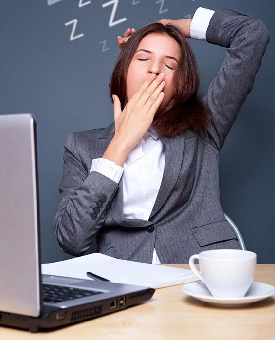 5 трикови да го победите уморот на работа