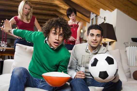 За мажите фудбалот е исто толку добар колку сексот