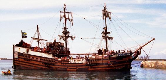 Места каде што некогаш владееле пиратите