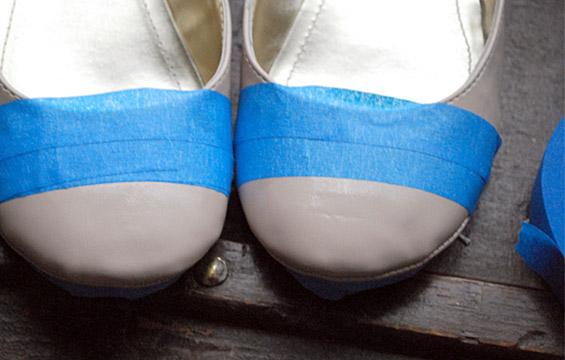 Направете сами: балетанки со врв во различна боја