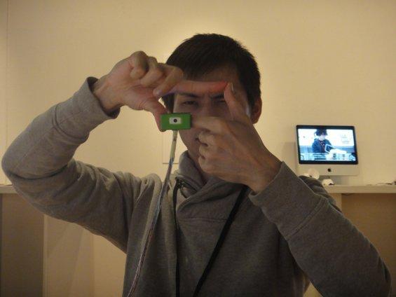 """Сосема нов начин на фотографирање со фотоапаратот """"Ubi"""""""