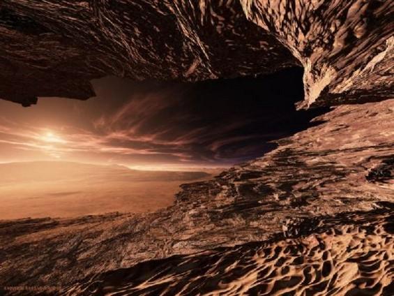 Неверојатни артистички интерпретации на Марс