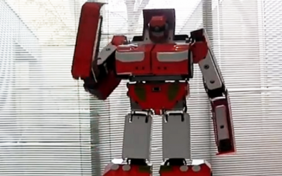 Робот-трансформер во вистинскиот живот