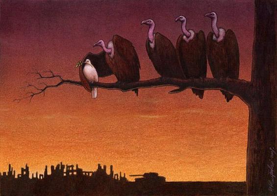 Сатирични илустрации за животот