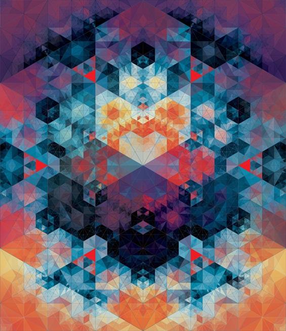 (14) Хипнотички геометриски композиции