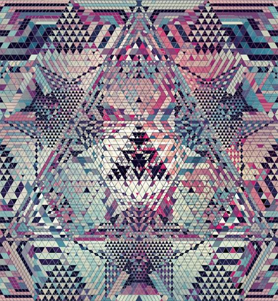 (1) Хипнотички геометриски композиции