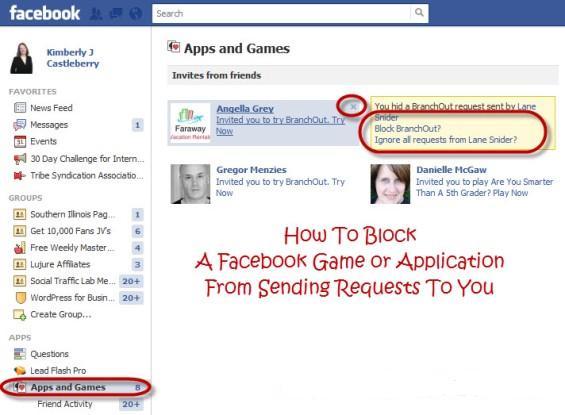 Како да ги блокирате барањата за игри и апликации на Фејсбук