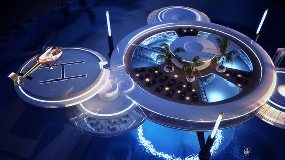 Подводен хотел - чудо на модерната архитектура во Дубаи