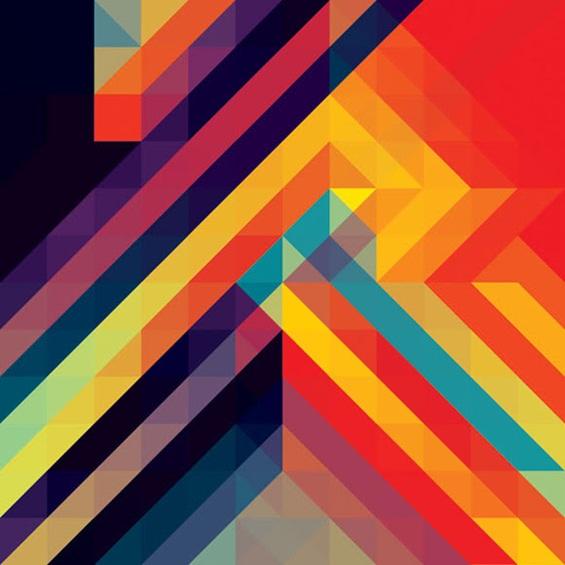 (3) Хипнотички геометриски композиции
