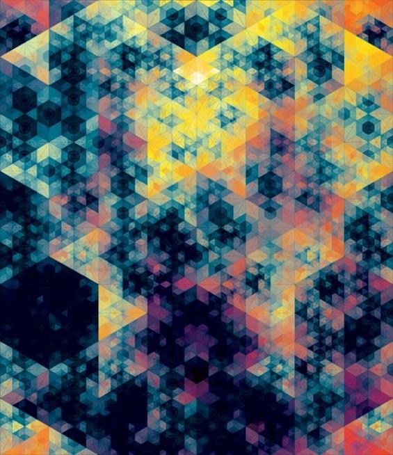 (4) Хипнотички геометриски композиции