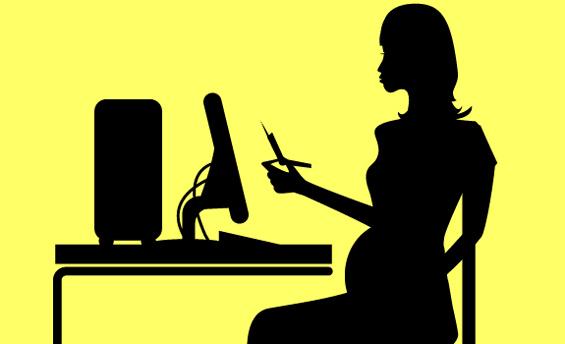 Бремените жени треба да работат само 25 часа неделно и не треба да се нервираат