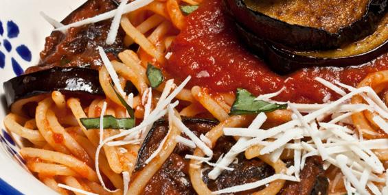 Шпагети на сицилијански начин