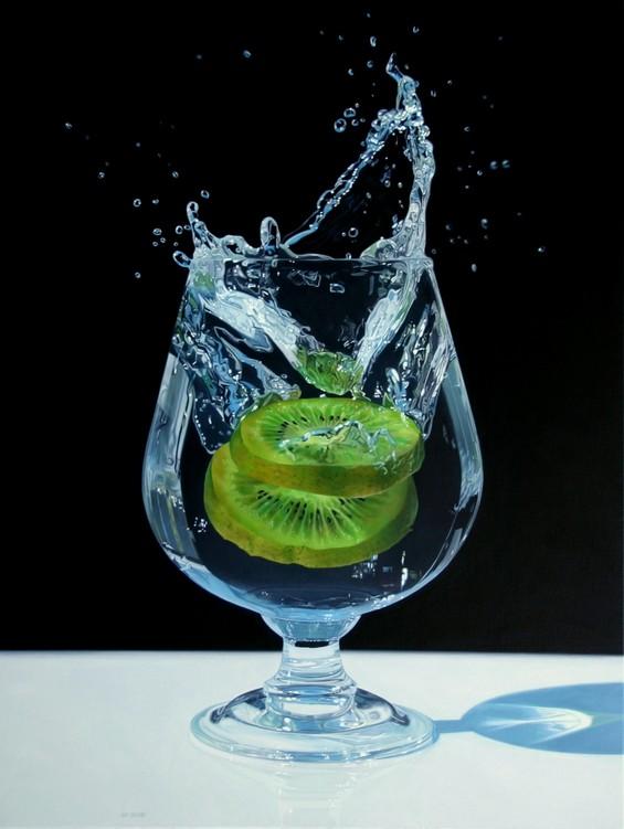 Хиперреална уметност која си поигрува со вашите очи