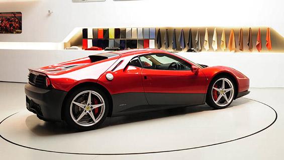 Ферари дизајнирано специјално за Ерик Клептон