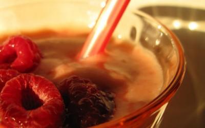 Фантастично смуди со овошје и кафе