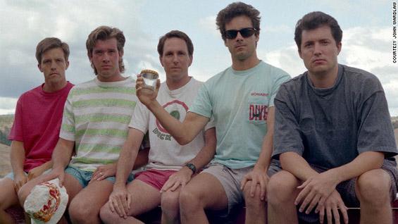 Петмина пријатели се фотографираат исто на секои пет години