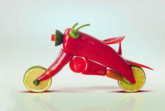 Можете ли да се сликате со овошен фотоапарат?