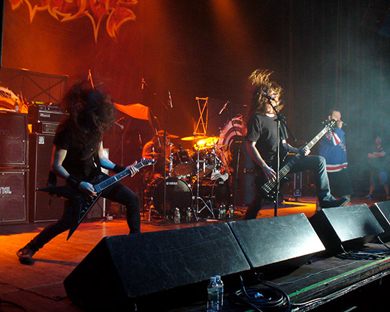 Култниот метал бенд Exodus во Скопје на 10 јули во МКЦ