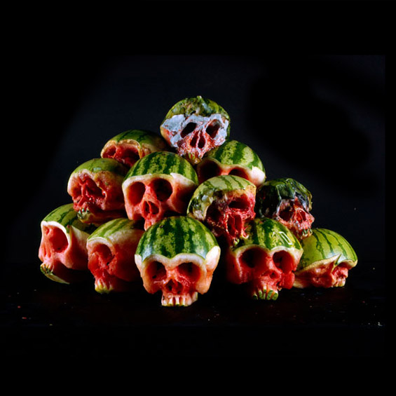 """""""Страшно"""" здрава храна: черепи од овошје и зеленчук"""