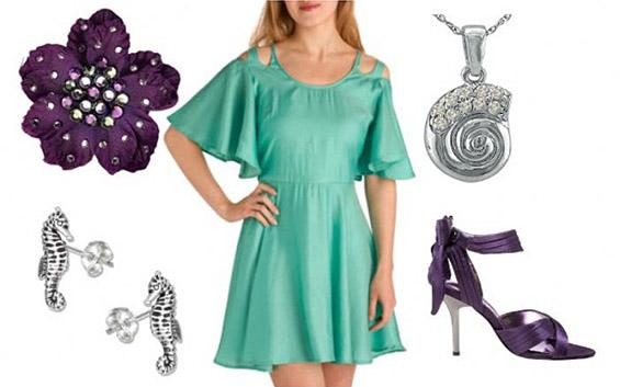 """Модна инспирација од """"Малата Сирена"""" Ариел"""