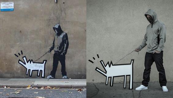 Оживеаја графитите на мистериозниот Бенкси