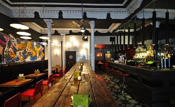 Графити бар – институција во Глазгов