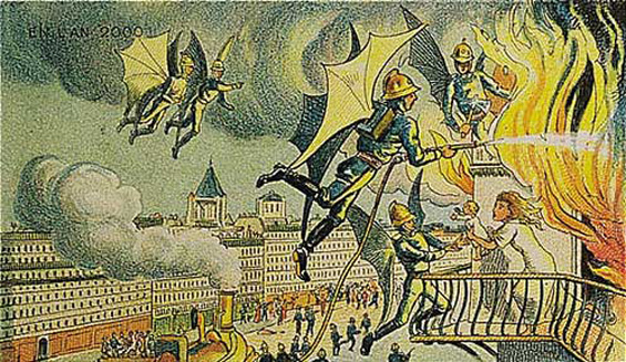 Како луѓето пред 100 години си ја замислувале сегашноста