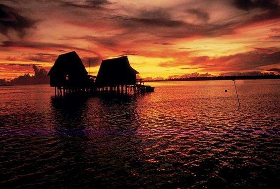 Зајдисонцето ширум светот