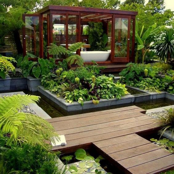 Бањи со отворен поглед кон природата