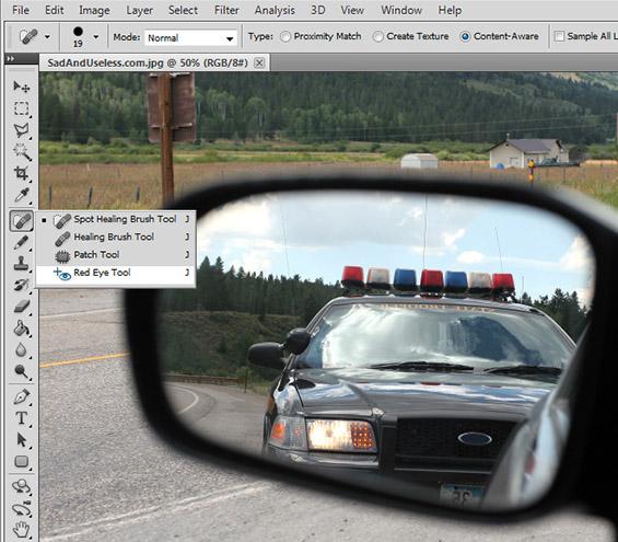 Кога би можеле да користиме Фотошоп во реалниот живот...