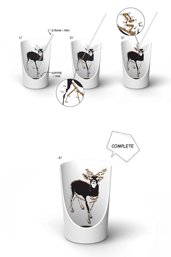 Забавна чаша за повкусна голтка кафе