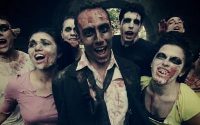 """Музичка пародија на популaрната ТВ серија """"Живи мртовци"""""""
