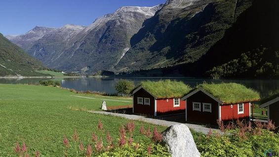 Прошетка низ убавините на Норвешка