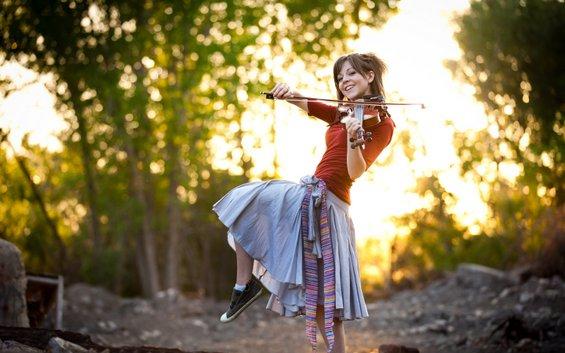 Исклучително талентираната виолинистка Линдзи Стирлинг