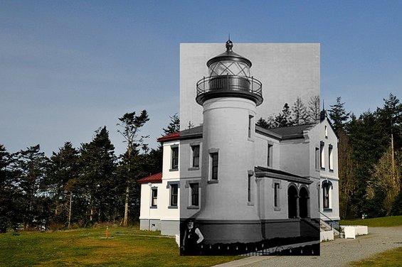 Фотографии кои спојуваат два века во еден