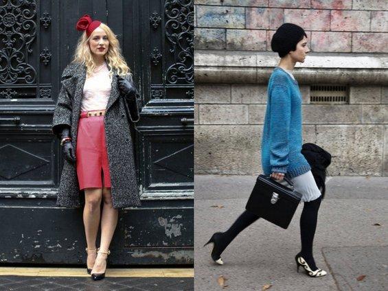 Модата на париските улици