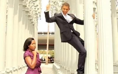 И Обама заигра во Гангам Стил?