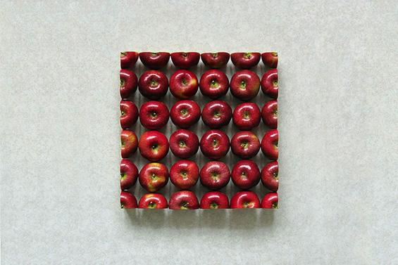 Храна исечкана во невозможни апстрактни облици