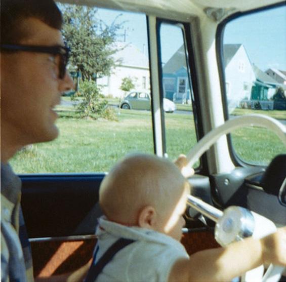 Ретко видени фотографии од семејните албуми на Курт Кобејн
