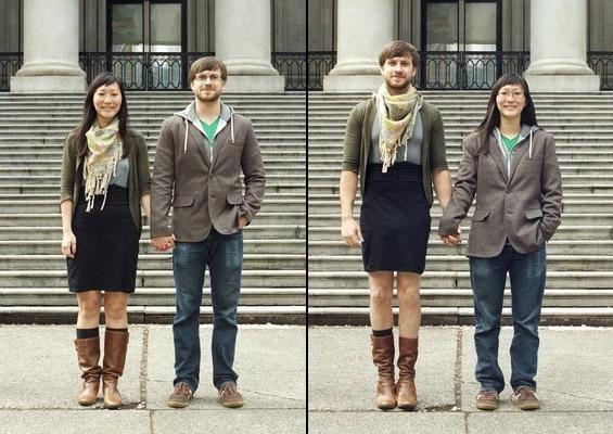 Кога љубовните двојки ќе си ги заменат улогите и облеката
