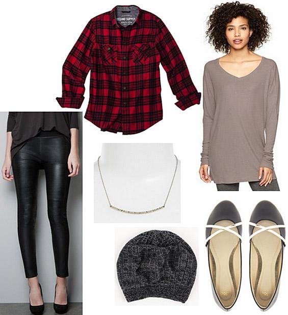 Четири комбинации со кожна облека за оваа есен